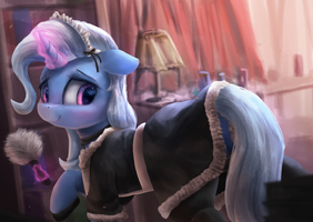 Helping Out Around the House by VanillaGhosties