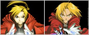 Elric brothers by FrancesHolly