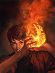 Randy Gallegos: Vero's Fire by gallegosart-com