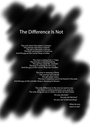The Difference Is Not~ by Iatefailure