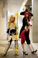 Lux and Miss Fortune by IvrinielsArtNCosplay