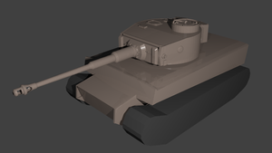 Tiger I H1 #1 WIP by MinderX