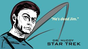 Star Trek: Dr. McCoy by shade59