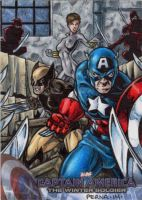 Captain America - Sketch Card 1 by tonyperna