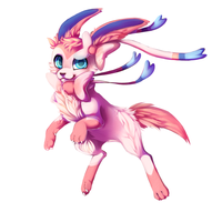 :PKMN: Sylveon by PheeBaDohDoh