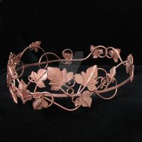 Mystic Ivy Crown in Copper by camias