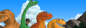 The Good Dinosaur Contest Entry by Zetroczilla