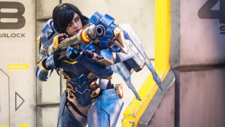Overwatch - Pharah by CamilaCarter