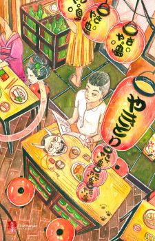 At the Restaurant with the Yokai by childheroes