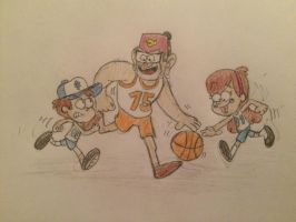 Pines Basketball by JJSponge120
