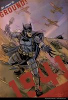 Batman 1941 with the Armored Division by PaulRomanMartinez