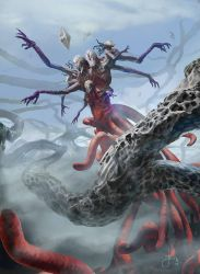 MTG-Battle For Zendikar- Endless One by jason-felix
