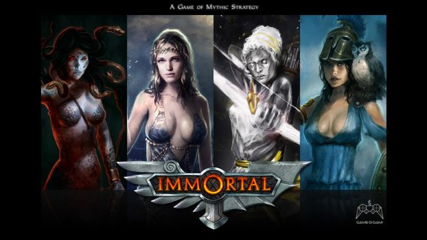 Immortal - strategy game - 1080p wallpaper by gameogami