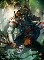 Connor Kenway: Into the Wild by AssassinsCreedChile
