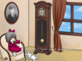 Grandfather's Clock by yesi-chan