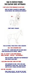 How to Sketch Ponies: The Stupidly Easy Approach by artwork-tee