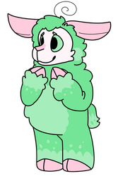 Minty Lamb by SpaceOreos