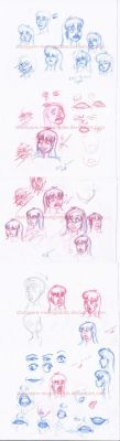 Shatoyan face expressions practice by Shatoyarn-MoonGoddes