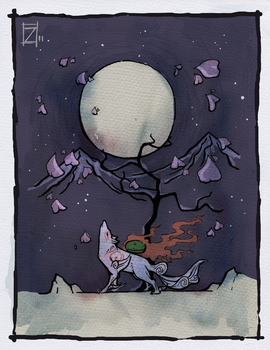 Ode to the Moon by ZestyDoesThings