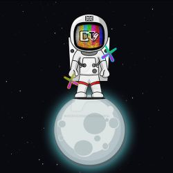 O1t9 Astronaut Logo by One1Three9s