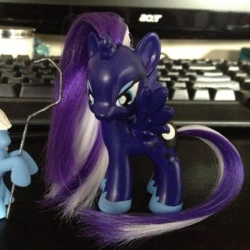 Custom Princess Luna - with modifications by SetoSora