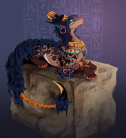 By the Nile by GoredGuar