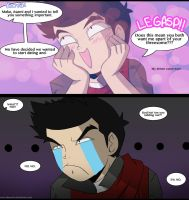 .:LoK When Mako found out about Korrasami:. by Dawnrie