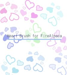 Brushes heart FireAlpaca by Mariamagic59