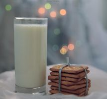 Milk with cookies by NastyaTulupova