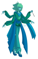 Chrysocolla (gemfusion) by BrokenTelevision