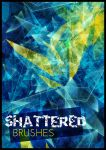 Shattered Glass Brushes by Imaliea