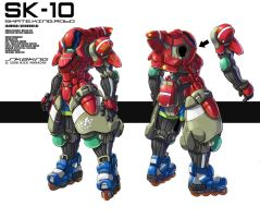 Skate King Robo by Nidaram