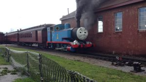 Thomas the tank engine by nickadventurepics