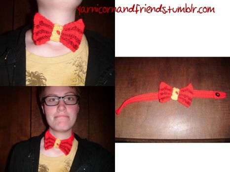 Smaug Bowtie by Ambrosial-Wolf