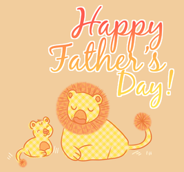 happy fathers day by irlnya