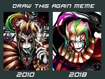 Draw this again - Kefka by blackorb00