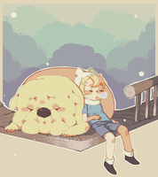 Nap Time by hippopon