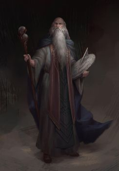 Father Time by NathanParkArt