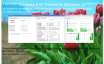 Windows 8 RP Theme for Windows 10 by WIN7TBAR