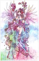 Rainbow Fairy by luciole
