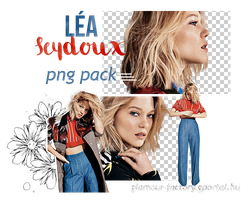 PNG PACK | Lea Seydoux by Efruse