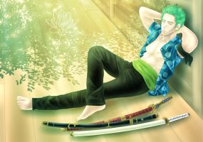One Piece | Roronoa Zoro by YaroslavaPanina
