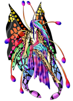 Butterfly Anthro Auction Adopt CLOSED by SparksOfDiscord