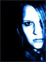 Blue face by EnIvId