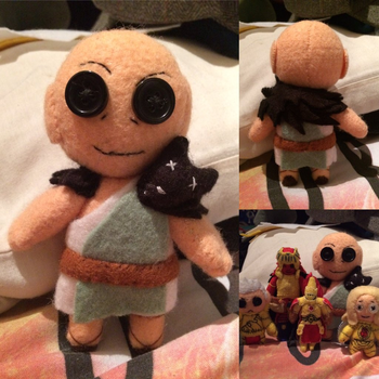Warhammer - Horus Lupercal Plush by Jack-O-AllTrades