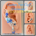 Custom Ear Cuff Giveaway! 2 Winners (+Sale) by BlackBlossomJewelry