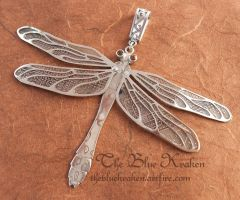 mokume and citrine dragonfly by thebluekraken