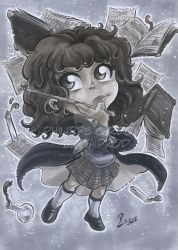 Grey Markers Hermione Granger by dekarogue