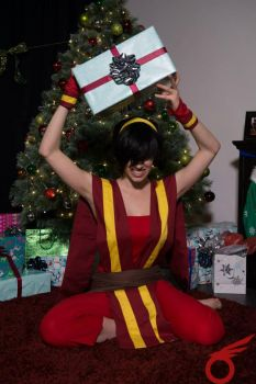 PRESENT TIME!! - Toph BeiFong by THISxISxMYxNAME