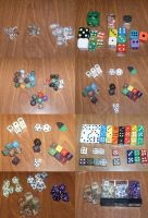 DICE, DICE, and more DICE by Shiroi-Tombo